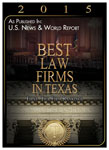 Best Law Firm Texas 2015