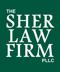 Sher Law Firm Logo