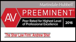 AV Preeminent by Martindale-Hubbell